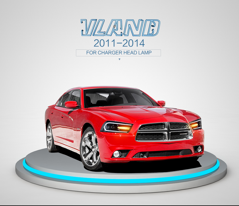 For Dodge Charger 2011 2014 Led Head Lamp Zhejiang