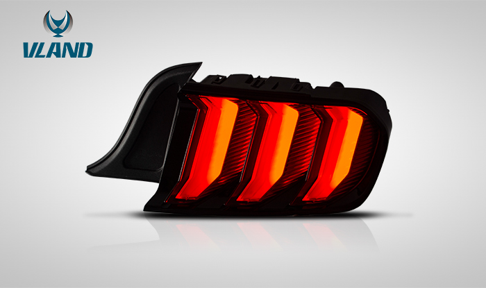 FOR FORD MUSTANG 2015-UP LED TAIL LIGHT