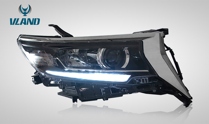 FOR TOYOTA LAND CRUISER PRADO 2018-UP HEAD LIGHT