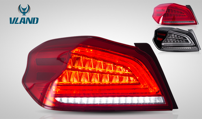 FOR SUBARU WRX 2013-UP LED TAIL LAMP