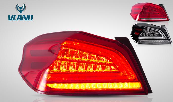 FOR SUBARU WRX 2013-UP LED TAIL LAMP