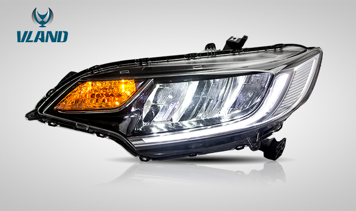 For Honda Jazz/Fit RS LED  2014-UP headlight
