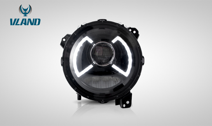 For Jeep Wrangler 2018-UP Headlight